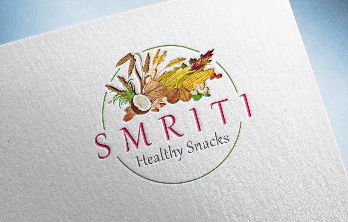 pixel-designs-logo-design-smriti-healthy-snacks